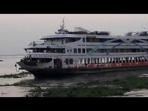 The biggest ship::Bangladeshi biggest launch