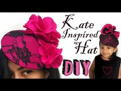 DIY Kate Inspired Hat 1 || Cara Membuat Topi A la Kate