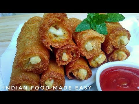 Potato Roll Recipe in Hindi by Indian Food Made Easy