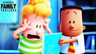 Captain Underpants: The First Epic Movie trailer for the animated comedy