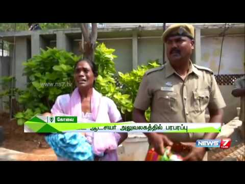 Women attempts suicide with infant baby after husbands arrest | News7 Tamil