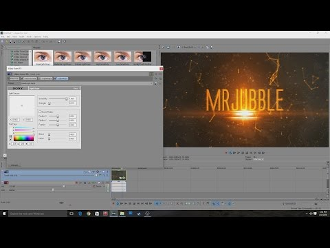 How to Make a the Division Style Intro in Sony Vegas Pro 12-8
