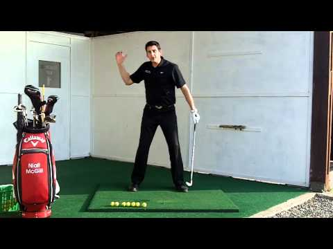 Create some extra width on your backswing