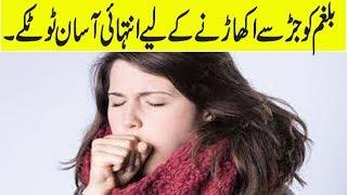 Mucus Treatment Home Remedy In Urdu | Khansi Aur Balgam Ka