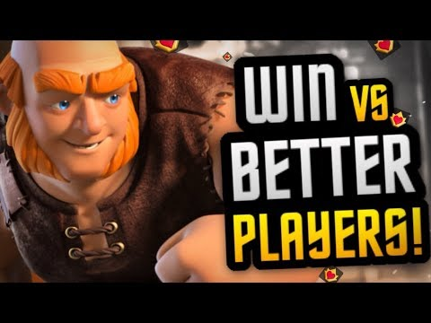 BEST DECK to WIN vs OVER-LEVELED & BETTER Players!