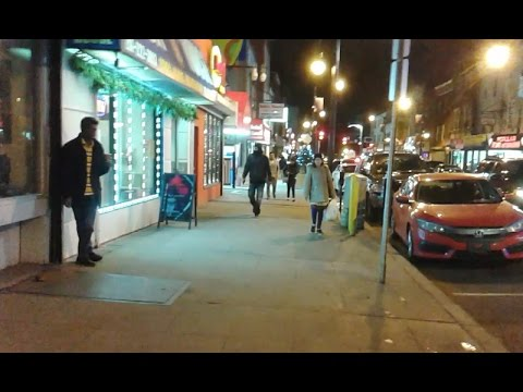 Welcome to Little India in the night!! Jersey City, New Jersey, USA