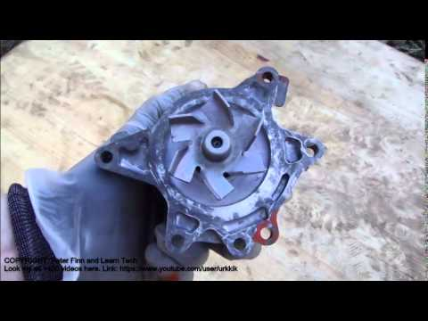 How to check water pump condition Toyota VVT-i engine