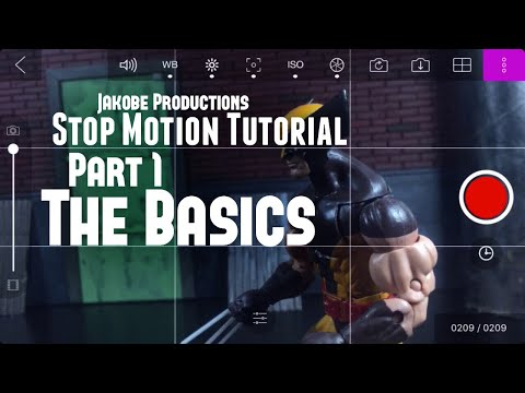 Stop Motion Tutorial (Part 1) - The Basics