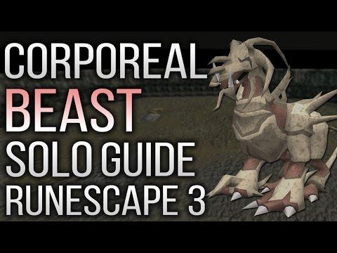 Complete Solo Corporeal Beast Guide RuneScape 3 2017 - Beginner and Advanced Setups