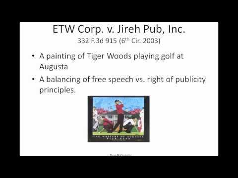 The Right of Publicity - Davis McGrath LLC IP Webinar Series - October 3, 2012