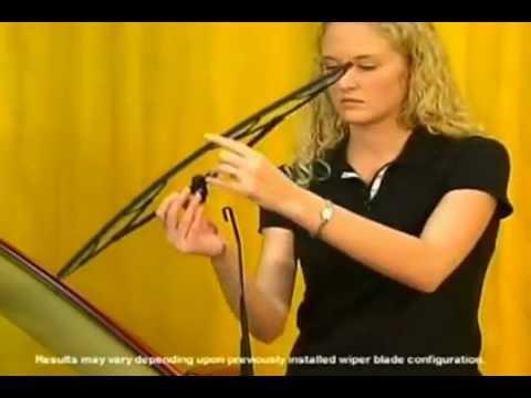 Rain-x Small J Hook Arm Latitude Wiper Blade Installation Video
