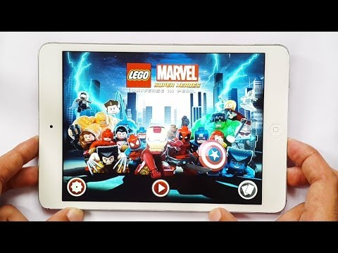 LEGO Marvel Super Heroes: Universe in Peril Gameplay iOS & Android iPhone & iPad HD