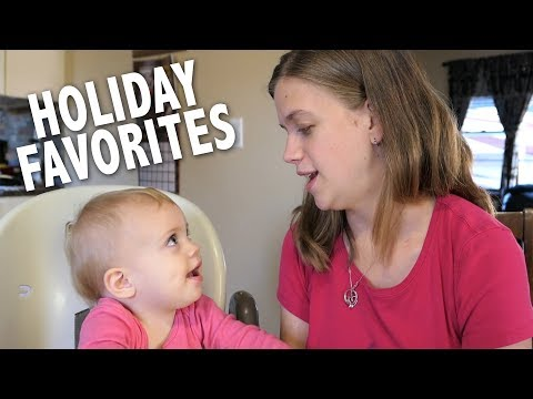 Holiday Favorites Tag