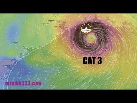 Models show a CAT 3 landfall on Texas coast next weekend - BIG heads-up!