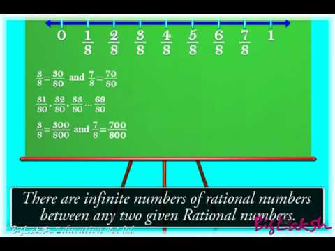 Rational number between two rational numbers