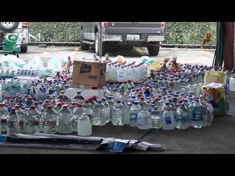 Helping Earthquake Victims in Ecuador