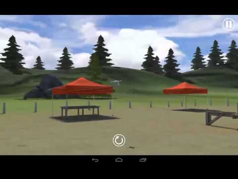 Real Flight simulator Android Dron Quadcopter