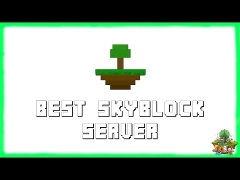 MINECRAFT 1.12.2 BEST SKYBLOCK SERVER! (IP in Desc.) | Skyblock IP | Friendly Staff