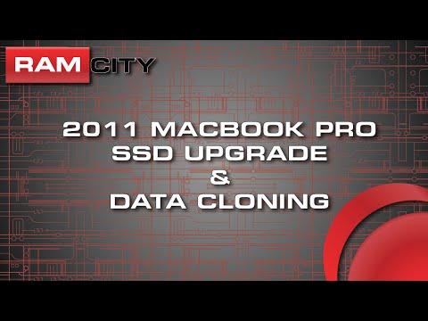 2011 MacBook Pro SSD Upgrade with Data Cloning Procedure