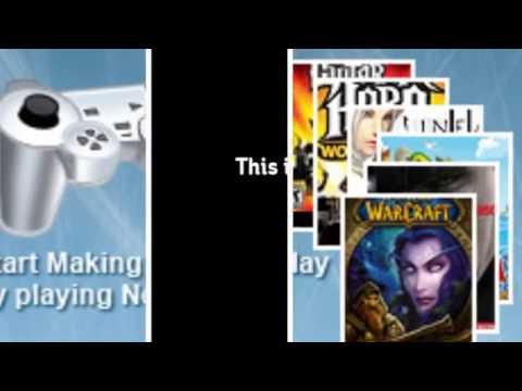 Video gaming job for making life more entertaining
