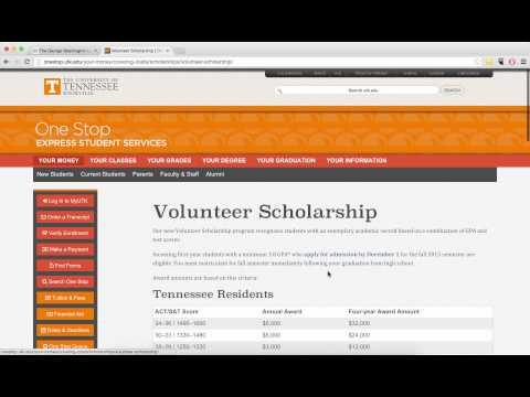 Finding ACT and SAT Score Requirements for Scholarships