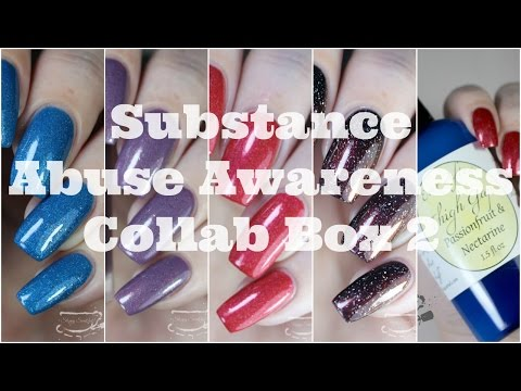 Swatches | Substance Abuse Awareness Collab Box 2