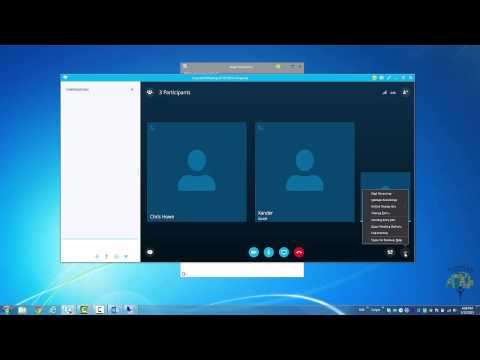 5 - Running a Meeting in Skype for Business