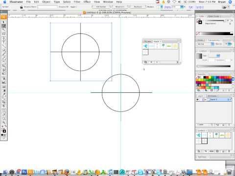 How to make a registration symbol in Illustrator