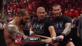 The Shield vs Evolution No Holds Barred Elimination Firma de Contrato   Raw Latino ᴴᴰ