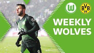 Renato Steffen das Kopfball 👻 | Topspiel vs. Borussia Dortmund | Weekly Wolves
