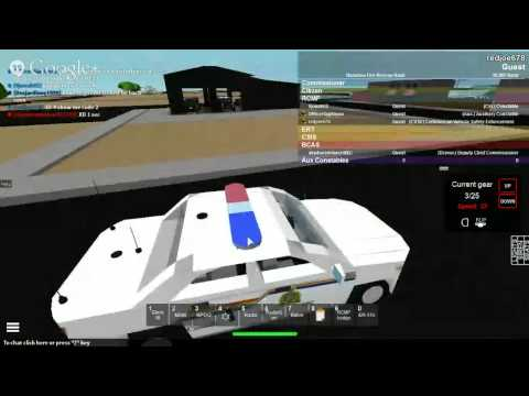Roblox: RCMP: RCMP PATROLE1 S1 (Join RCMP)