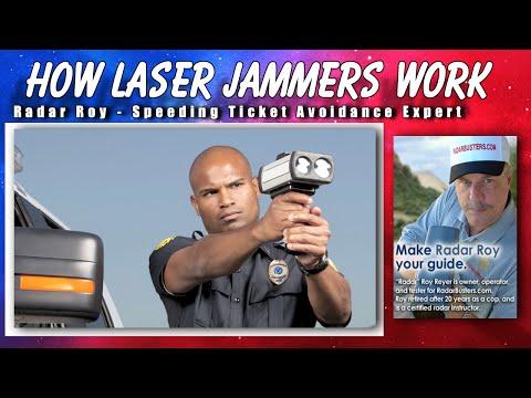 How Does A Laser Jammer Work - Radar Roy