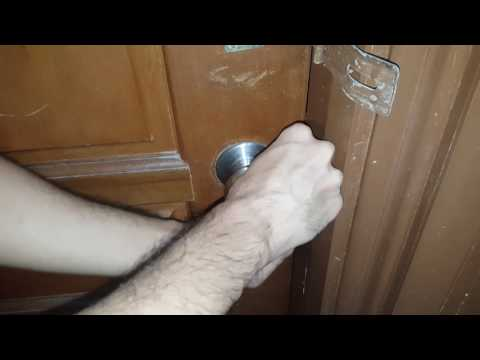 HOW TO Open LOCKED DOOR Without Keys 2017