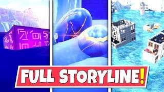 *NEW* FULL SEASON 7 *STORYLINE* IN FORTNITE SO FAR! DRAGON EGGS, FLOODS AND THE CUBE!: BR