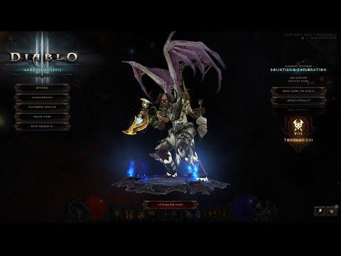 [Diablo 3] illidan wings / Wings of the Betrayer  Season 5 lvl 70 Witch Doctor (Zunimassa style)