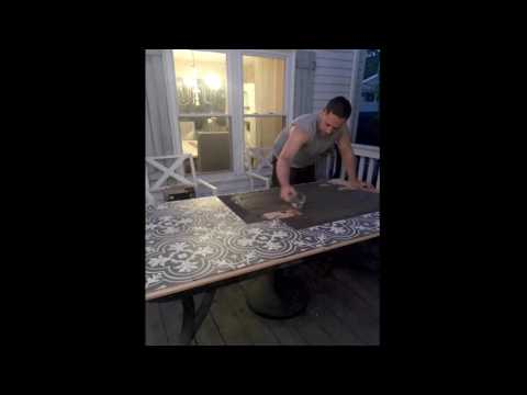 DIY Tile Table Top