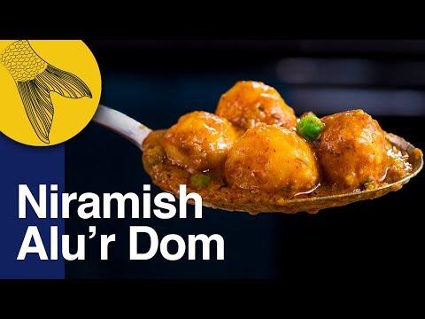 Niramish Aloo'r Dum Bengali Recipe   Easy Aloo Dum without Onion & Garlic   Bhoger Alur Dom