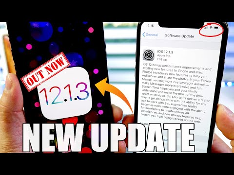 iOS 12.1.3 is HERE ! What's NEW ?
