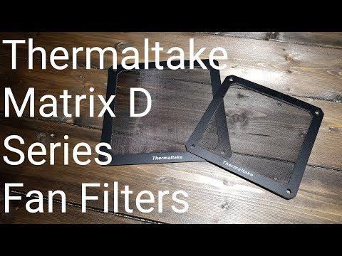 Thermaltake Matrix D12 and D14 Series Fan Filter