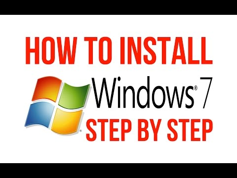 How to install Windows 7 by using USB STEP BY STEP