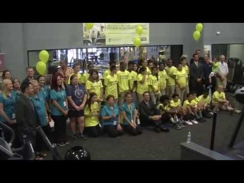 Taft Middle School Receives Donation of New Fitness Equipment