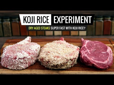 Sous Vide KOJI RICE Experiment - Dry Aging in 48hrs - Does it WORK?