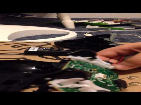 How to take apart xbox 360 controller