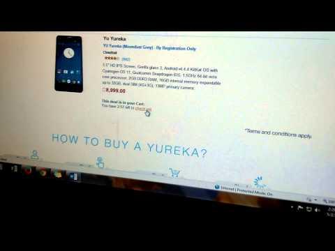 Big bug in YU YUREKA sale page amazon.in