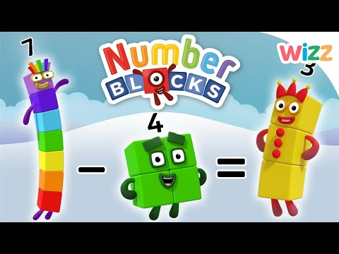Numberblocks - Learn to Count | Learn to Subtract
