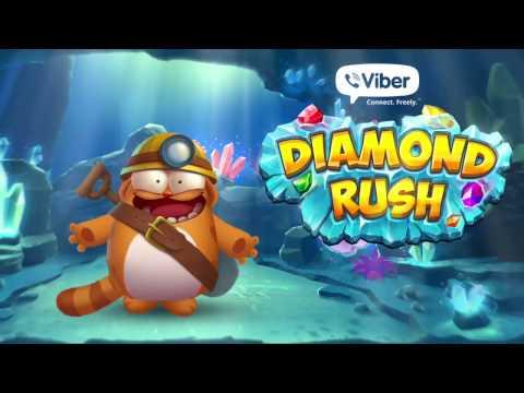 Viber Diamond Rush now available on Viber Games!