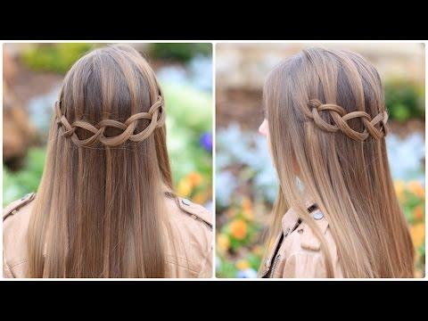 Loop Waterfall Braid | Cute Hairstyles