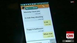 How Orlando shooting unfolded, as seen via texts