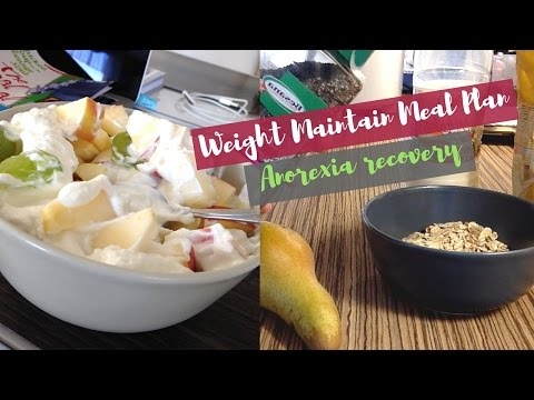 Weight Maintain Meal Plan | Anorexia Recovery & c.1 kg Portions