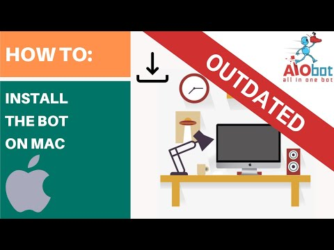 How to install AIOBOT on MAC